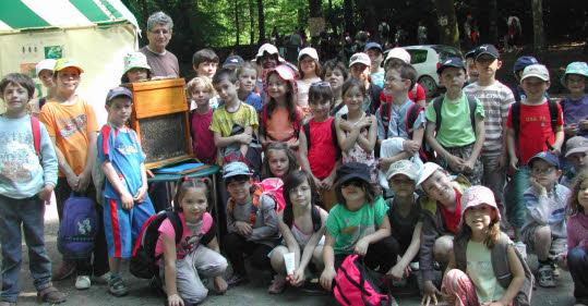 Forêt du Cranou. Découvrir l'apiculture avec le Reppi
