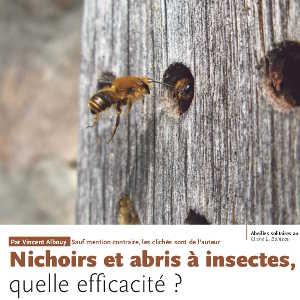 Nichoirs et abris à insectes, quelle efficacité ?
