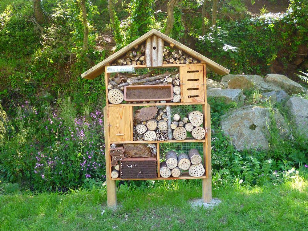 L'hôtel à abeilles de Lanildut.